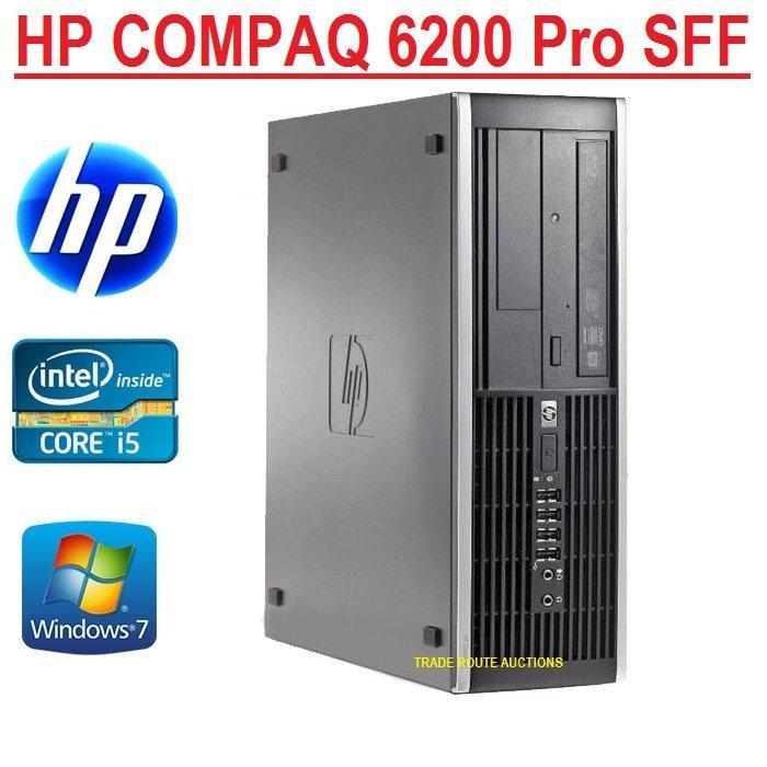 Máy tính đồng bộ HP Compaq 6200 Intel G620 RAM 4GB HDD 250GB- Hàng Nhập Khẩu Nhật Bản