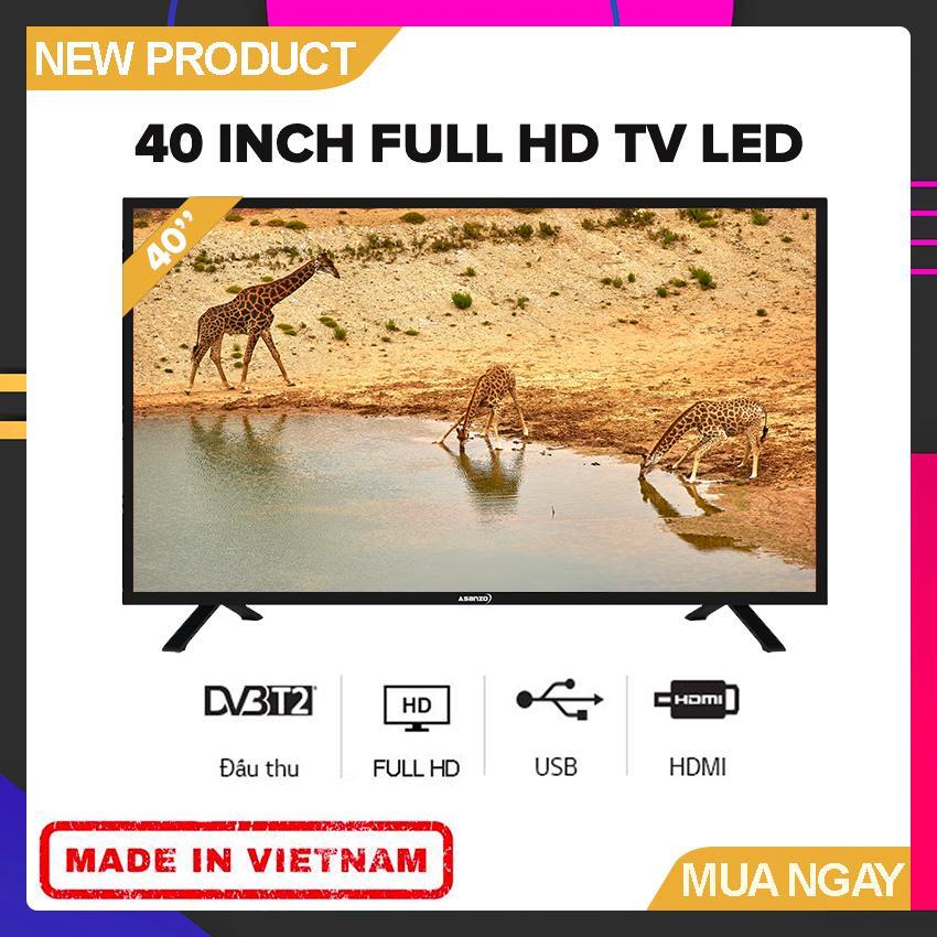 Bảng giá Tivi Led Asanzo 40 inch Full HD - Model 40T550 (Full HD, Tích Hợp KTS) - Bảo Hành 2 Năm