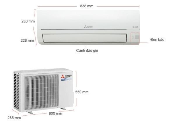 Máy Lạnh Inverter Mitsubishi Electric MSY-JP50VF