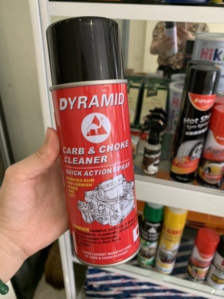 (Rẻ vô địch) Xịt chế hòa khí Dyramid