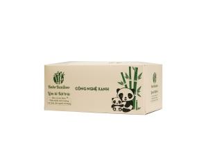 05 Hộp Giấy Gấu Trúc Bobo Bamboo Cao Cấp 100 tờ hộp Siêu Dai thumbnail