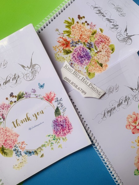 Sổ nhật ký luyện chữ đẹp ánh dương
