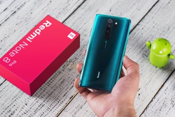 Điện thoại Xiaomi Redmi Note 8 Pro   6-128Gb   Pin 4500mAh   có tiếng Viêt fullbox nguyên seal