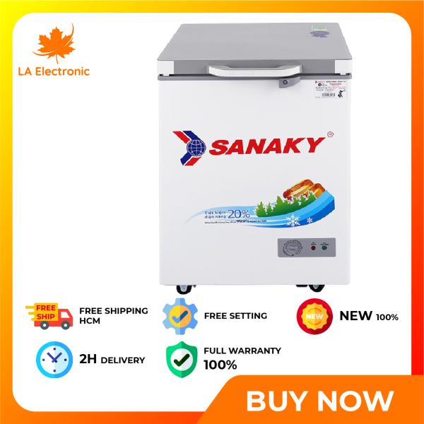 Trả Góp 0% - Tủ đông Sanaky VH-1599HYK - Miễn phí vận chuyển HCM