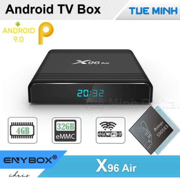 Android TV Box X96 Air - Amlogic S905X3 32GB bộ nhớ trong 4GB Ram Android 9