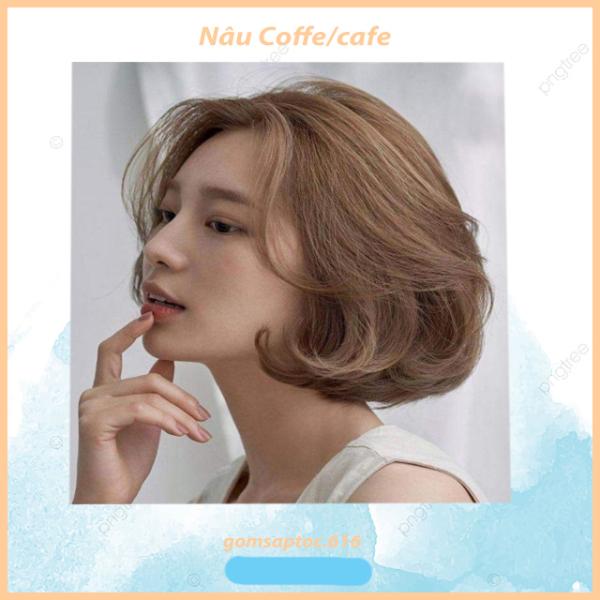 💥Thuốc nhuộm tóc Nâu coffee / Nâu cafe không tẩy
