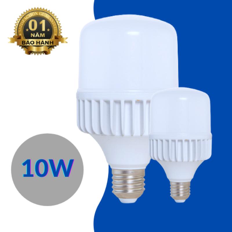 Bóng đèn led búp trụ công suất 10w giá sỉ tiết kiệm điện