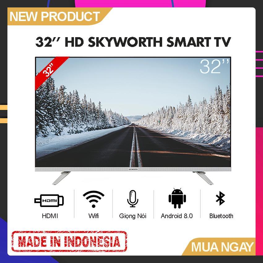 Bảng giá Smart Voice TV Skyworth 32 inch HD - Model 32E6 (Android 8.0, Google Assistant, Tìm kiếm giọng nói, Tích hợp DVB-T2, Wifi) - Bảo Hành 2 Năm