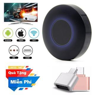 ( Đầu OTG cho điện thoại Android ) Thiết bị HDMI không dây Q1 Dongle hỗ trợ kết nối cổng AV - Wifi Display Dongle Q1 - HDMI Dongle Q1 hỗ trợ HDMI và AV trình chiếu từ Smartphone lên Tivi thumbnail