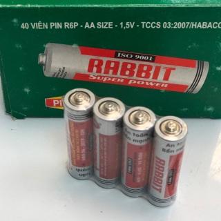 Vỉ Pin khô con thỏ 1.5V , sử dụng thân thiện với môi trường thumbnail