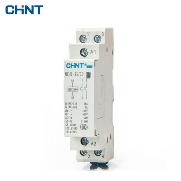 Khởi động từ 1 pha CHINT NCH8-25/20 NCH8-63/20 25A 63A 220V