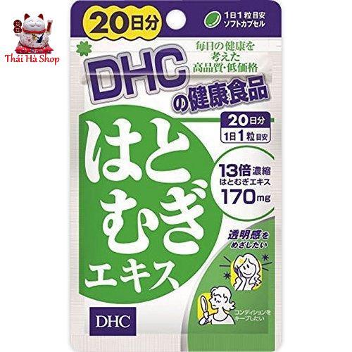 Viên Uống Trắng Da DHC 20 Viên Nhật Bản chính hãng