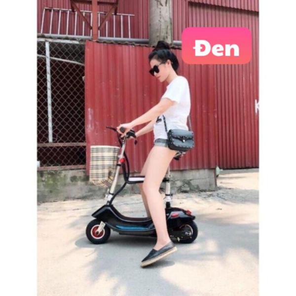 Mua Xe đạp điện mini E-Scooter 2020 - Có giảm sóc -  đi được 30 km cho một lần sạc
