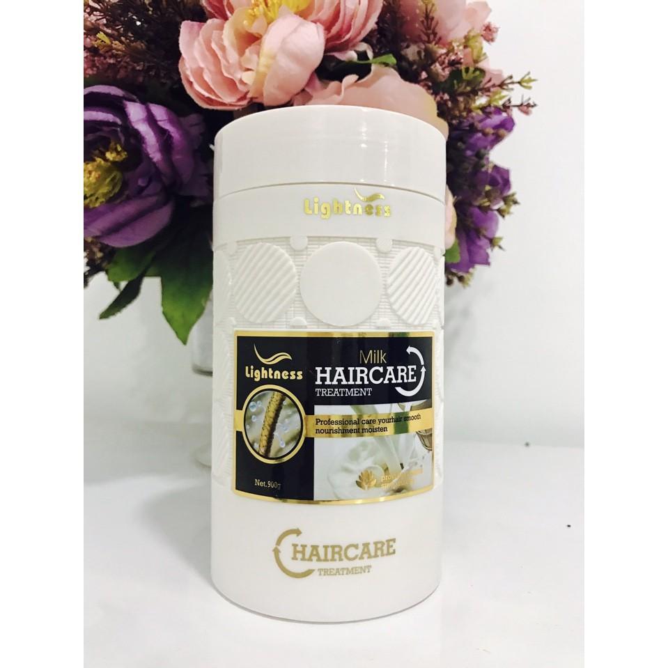 Hấp tóc Lightness Hair Care nuôi dưỡng tóc cao cấp Philipin 1000ml (Màu trắng) tốt nhất