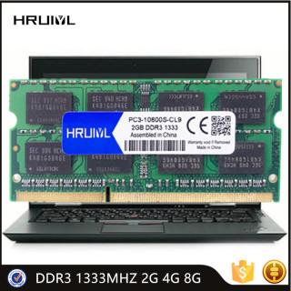 HRUIYL Original Memory DDR3 1333MHZ 2GB 4GB 8GB 1.5V 204 Pin Notebook Memory RAM SO-DIMM Module SDRAM Memoria Laptop New thumbnail