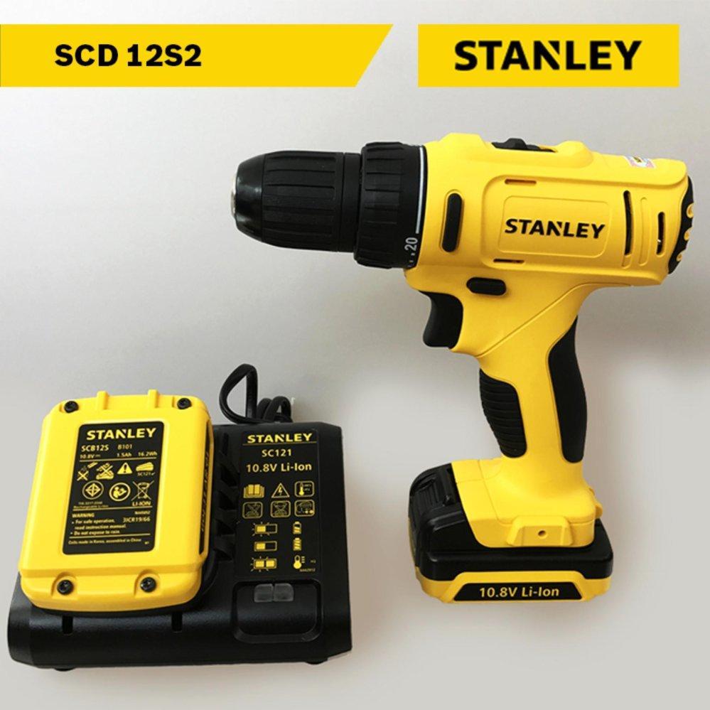Máy khoan pin Stanley Model SCD 12S2 (2 pin)