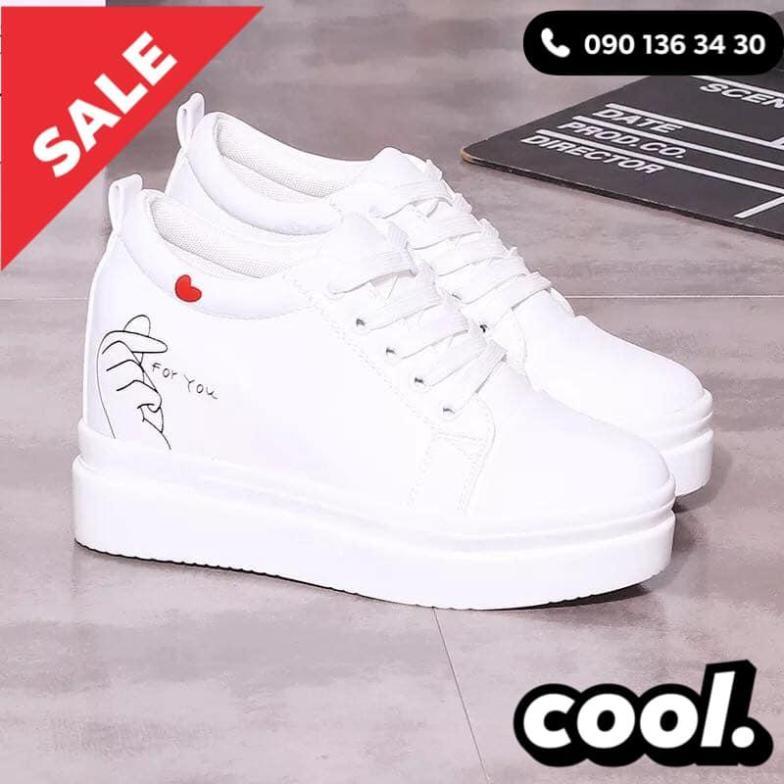 [HOTTREND] GIÀY NỮ BẮN TIM THỂ THAO TN68 (Mua giày tặng vớ) giá rẻ