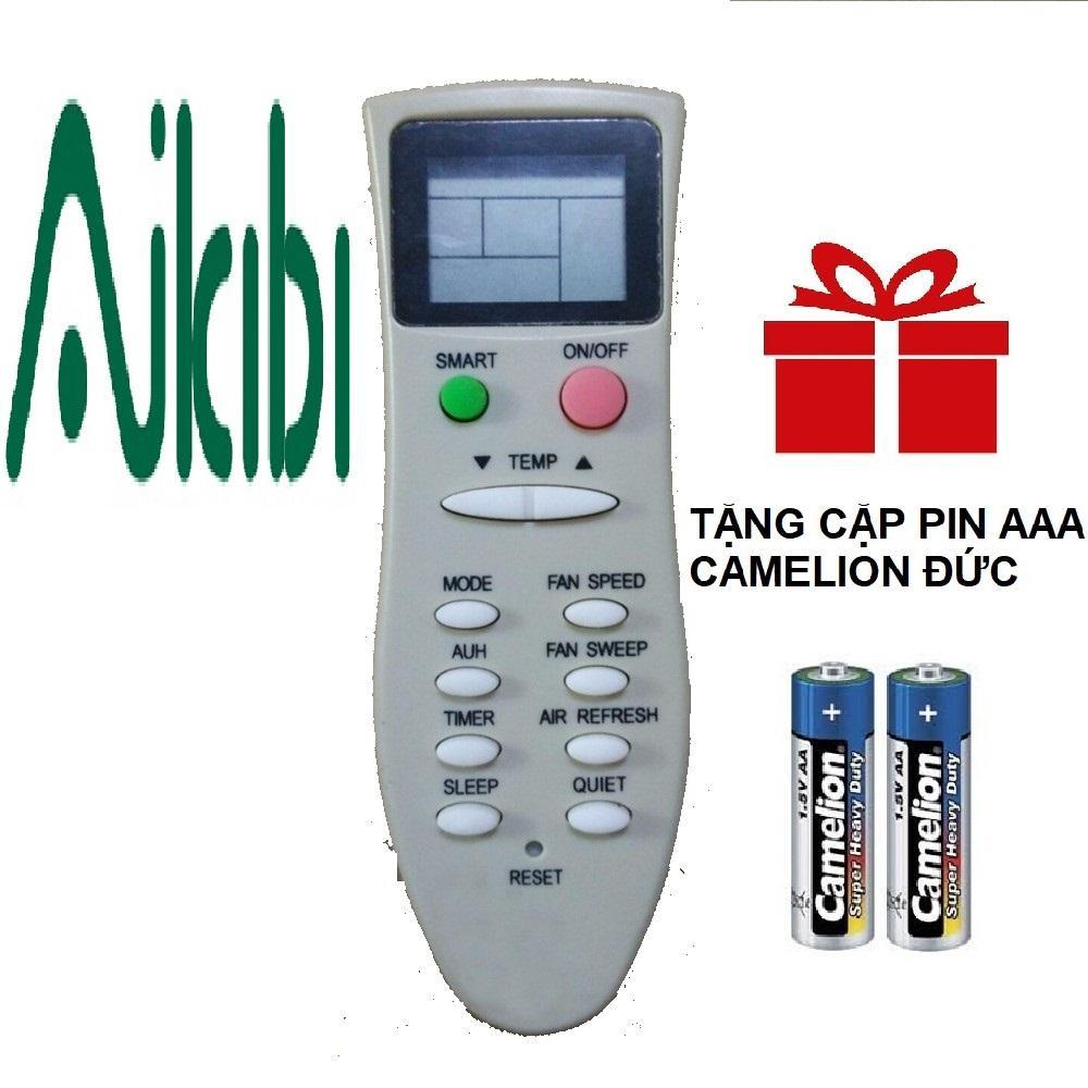 Remote điều khiển máy lạnh AIKIBI mẫu 6
