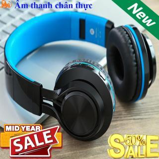 Tai Nghe Bluetooth, Tai Nghe Chụp Tai Bluetooth Cao Cấp FE-012, Âm Thanh Sống Động, Kết Nối Bluetooth 4.0. Bảo Hành Lỗi 1 Đổi 1 thumbnail