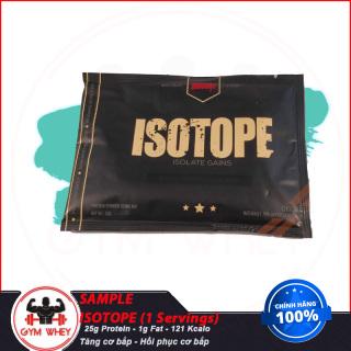 Gói Dùng Thử Sữa Tăng Cơ Bắp Redcon1 100% isolate Whey Isotope (1 lần dùng) - Redcon1 Authentic 100% thumbnail