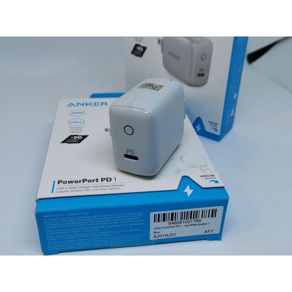 Cốc Sạc nhanh ANKER PowerPort PD 1 cổng 18W - A2019