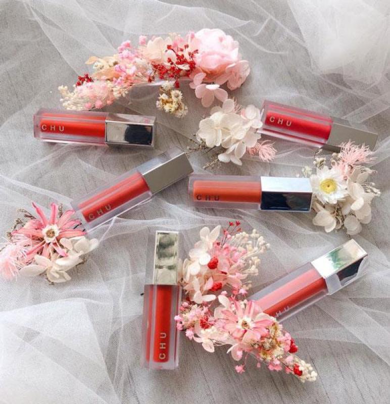 Son kem/ Son nhung Chu Lipstick sang chảnh cho quý cô màu màu đỏ lạnh ( #901 ) cao cấp