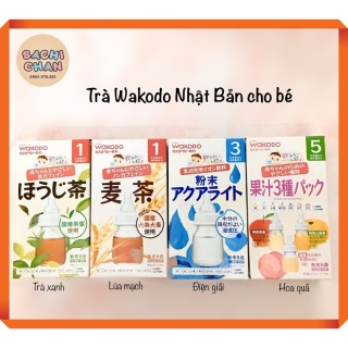 [Cửa tiệm Sachi Chan] Trà Wakodo Nhật Bản cho bé thumbnail