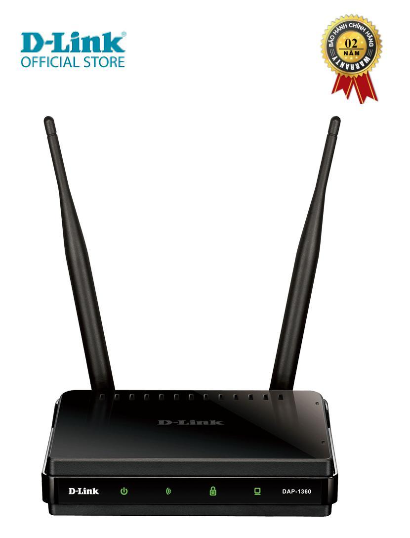 Giá Thiết bị mở rộng sóng wifi D-LINK DAP-1360 - Hàng chính hãng