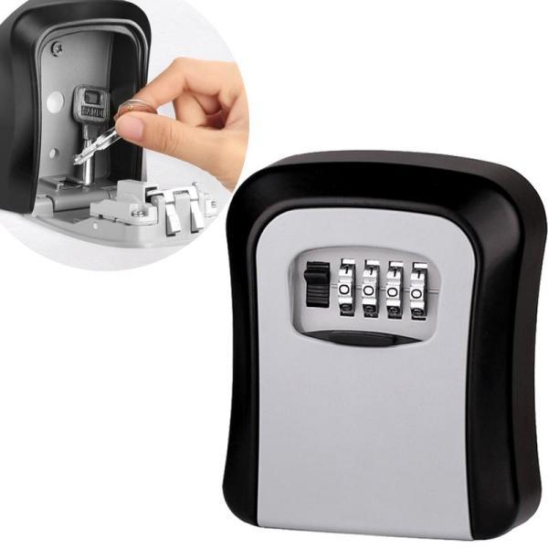Hộp đựng chìa khóa an toàn-Lock box NF01, trang bị khóa số có thể thay đổi mã số