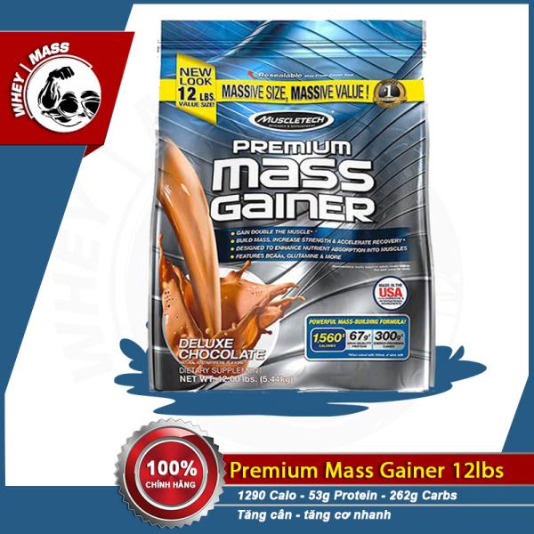 Sữa Bột Tăng Cân Tăng Cơ Muscletech Premium Mass 12lbs 5.4 Kg
