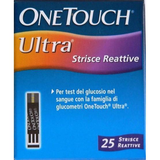 Que Thử Đường Huyết One Touch Ultra - Hộp 25 Que chính hãng