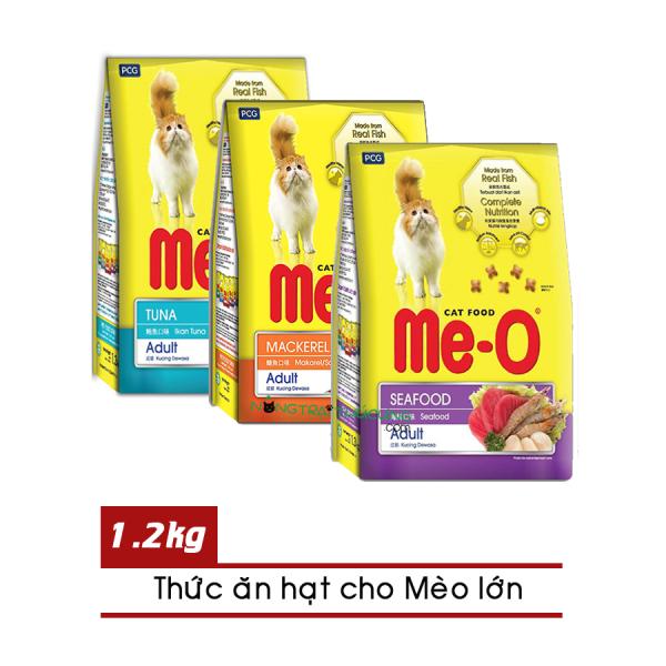 Thức ăn hạt cho Mèo lớn ME-O gói 1,2kg - Đủ vị - [Nông Trại Thú Cưng]