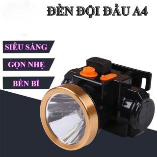Đèn pin đội đầu A4 20W chiếu xa siêu sáng thumbnail