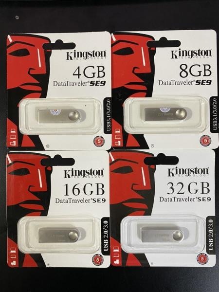 Bảng giá USB Kingston SE9 4GB 8GB 16GB 32GB 64GB Chống Nước Phong Vũ