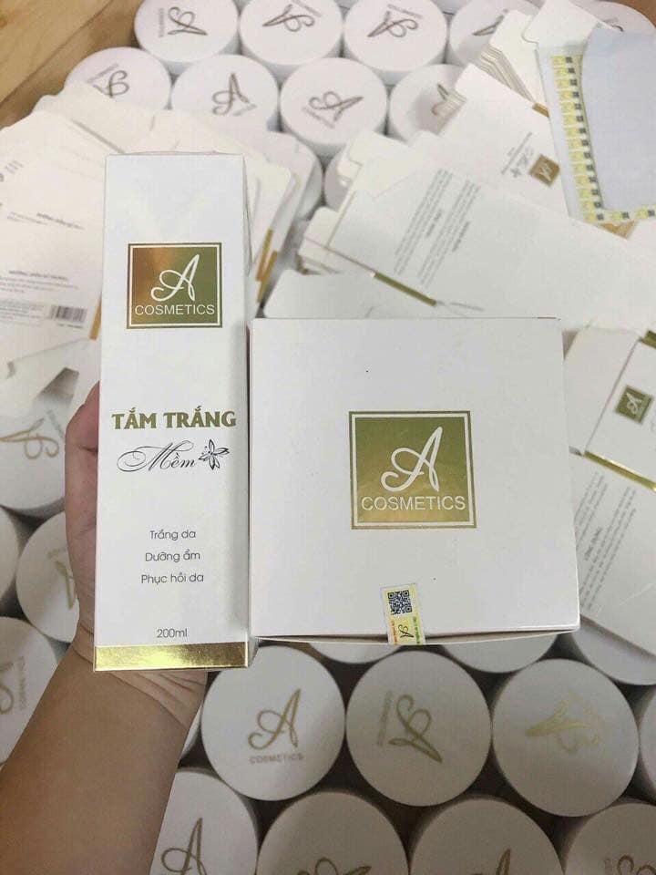 combo  Kem Body Mềm -A Cosmetics