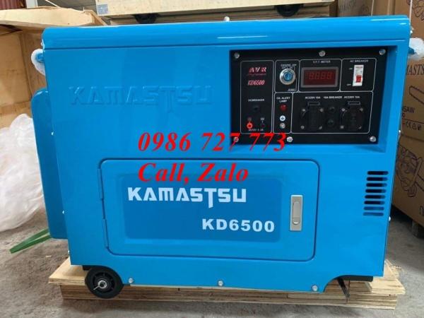Máy phát điện củ phát đồng 100% KAMASTSU 6500