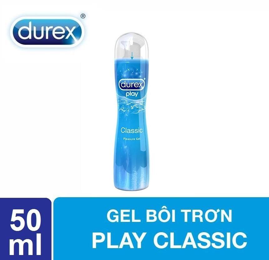 Gel bôi trơn Durex Play Classic 50ml - Trơn mượt tự nhiên