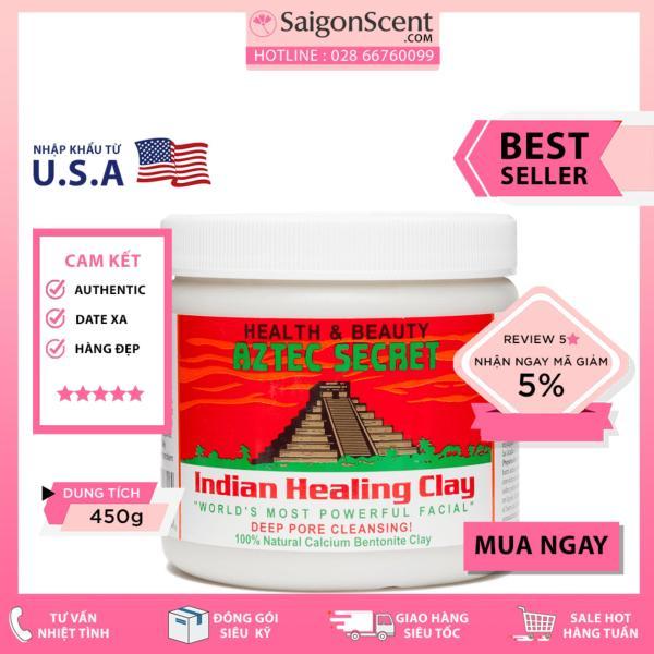 Mặt nạ đất sét Aztec Indian Healing Clay Deep Pore Cleansing (450g)
