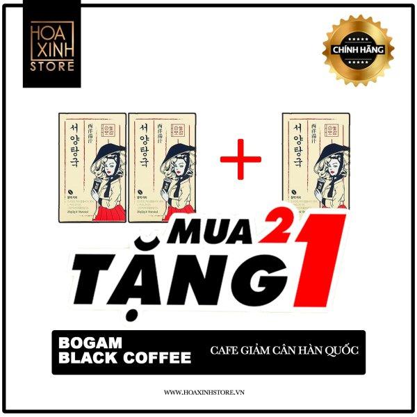 LẤY LẠI VÓC DÁNG KM 2+1 BOGAM COFFEE Black Korea giá rẻ