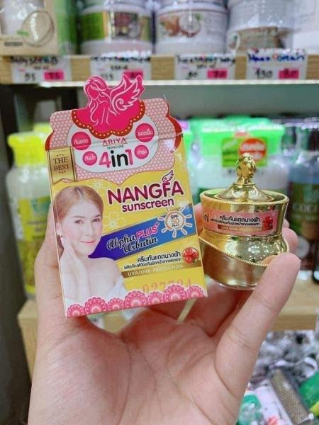 Kem Chống Nắng Dưỡng Da Nangfa nhập khẩu