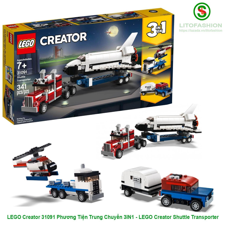 LEGO Creator 31091 Phương Tiện Trung Chuyển 3IN1 - LEGO Creator Shuttle Transporter Giá Rẻ Nhất Thị Trường