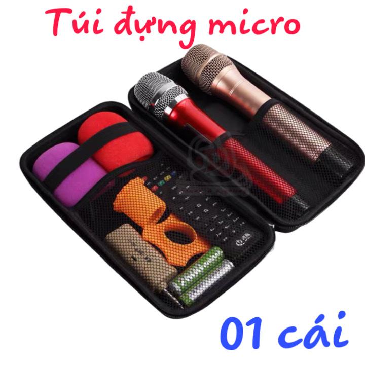 [HCM]Hộp đựng micro không dây túi đựng micro ví bảo vệ micrphone hộp đựng linh kiện điện tử Hộp Đựng Micro Túi Đựng Micro Không Dây Micro Micro Karaoke Mic Karaoke Micro Không Dây Dây Micro Micro Loa Kéo Loa Karaoke Loa Kéo Loa Bluetooth