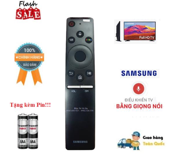 Remote Điều khiển tivi Samsung giọng nói MU 2017 - Hàng chính hãng Made in Viet Nam bóc máy mới 95% chính hãng