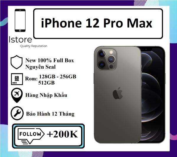 Điện Thoại Apple iPhone 12 Pro Max 256GB - Hàng Nhập Khẩu - Bảo hành 12 tháng - Trả góp 0%