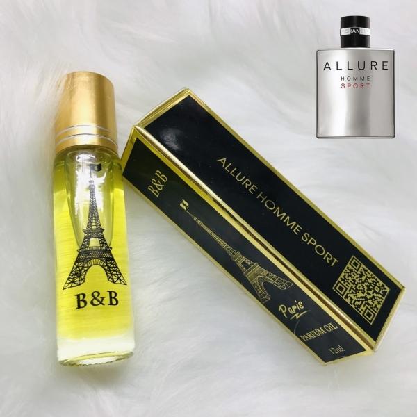 Tinh dầu nước hoa nam BB Pháp 12ml