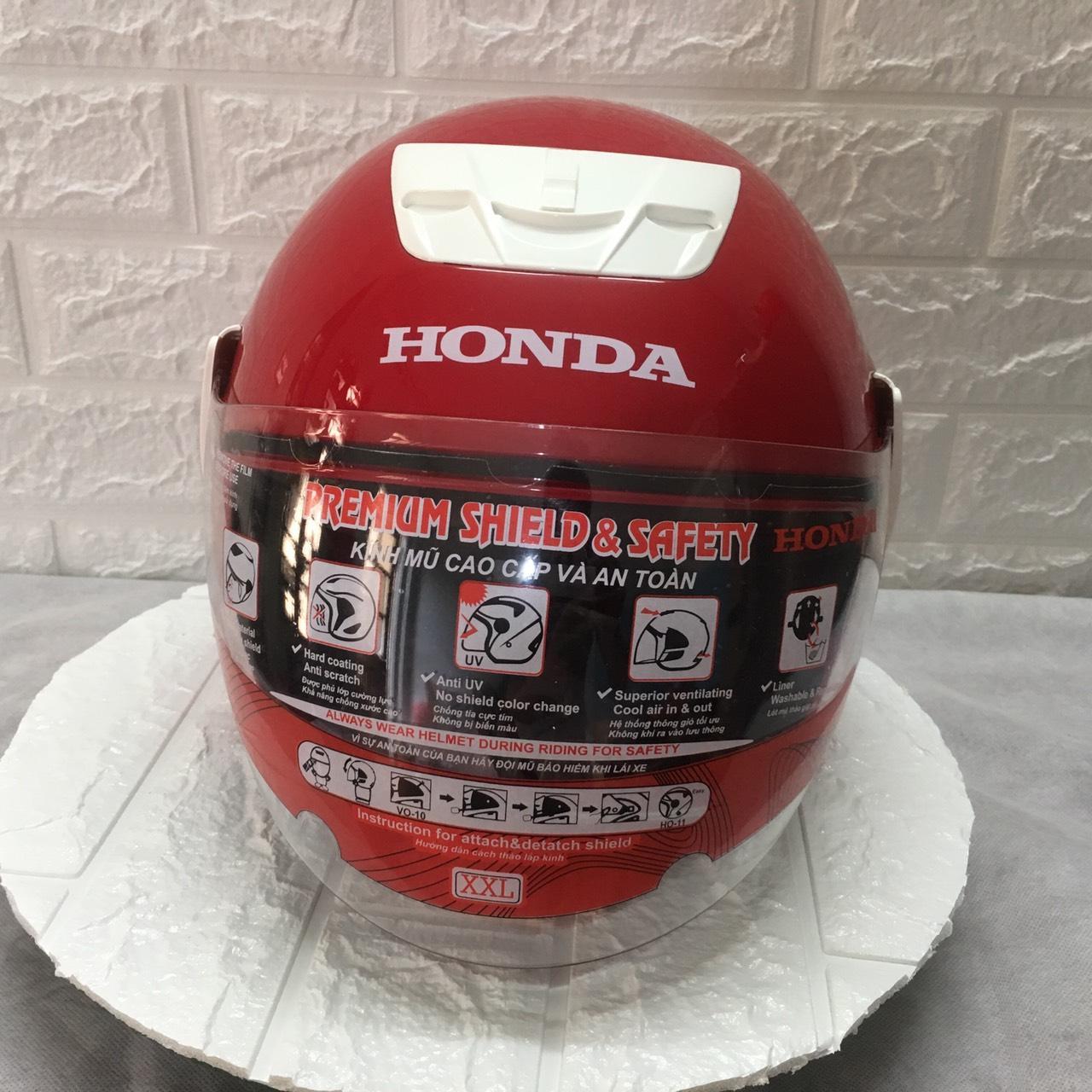 Chương Trình Ưu Đãi cho Mũ Bảo Hiểm Honda đỏ