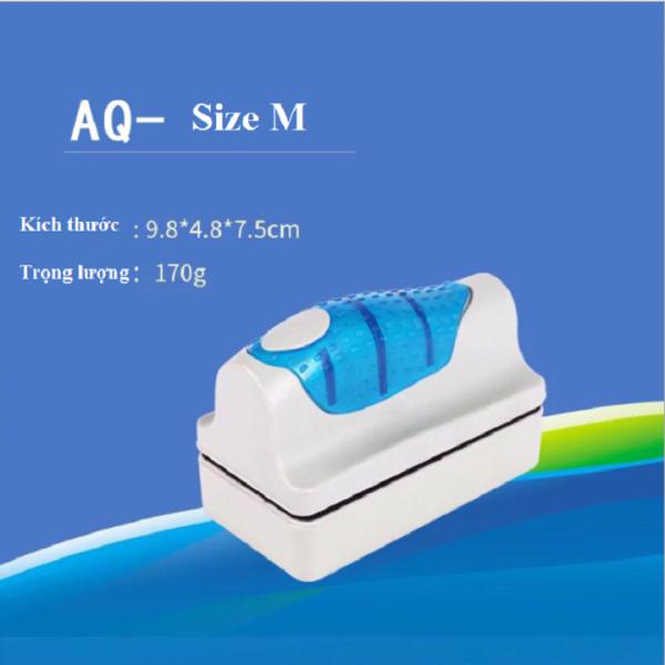 Nam châm vệ sinh bể cá size nhỡ 9.8x4.8x7.5cm