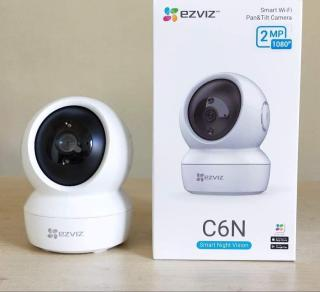 Camera Wifi Thông Minh EZVIZ 360 EZVIZ CS-C6N Full HD 1920 1080 (CS6CN 1080P) - Tự Động Theo Chuyển Động - Xoay 360 - Quay Đêm - Đàm Thoại 2 Chiều - Báo Động - Bảo Hành Chinh Hãng 12 tháng thumbnail