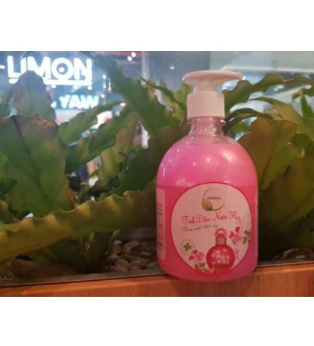 Nước Rửa Tay Caroline Herbal - 500ml Hoa Oải Hương/ Nước Hoa
