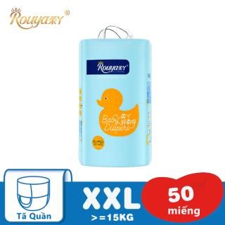 Tã bỉm quần sơ sinh Rouya XXL (Cho bé trên 15kg) - Gói 50 miếng thumbnail